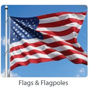 FLAGS AND FLAGPOLES