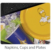 Napkins, Cups and Plates